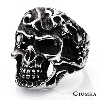 GIUMKA 海盜王 白鋼戒指