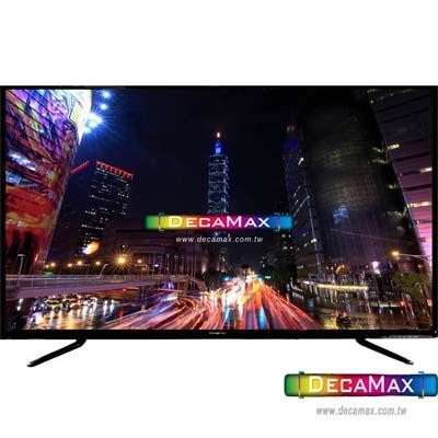 DECAMAX 50吋 4K UHD液晶顯示器 + 數位視訊盒 DM-5067UHD