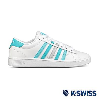 K-swiss Hoke CMF 休閒運動鞋-女-白/藍綠/灰