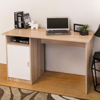 Boden-亞諾單門空抽書桌/工作桌(原木色)-116x50x75cm