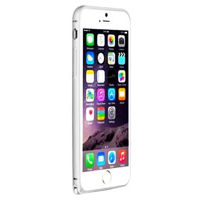 LOVE MEI  iPhone6 Plus (5.5吋)簡約輕薄海馬扣金屬邊框
