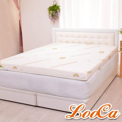 LooCa 頂級睡眠10cm一體成型乳膠床墊 雙人5尺