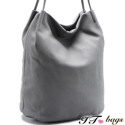 It-Bags-肩側包-堶麇J素面肩側包-共二色