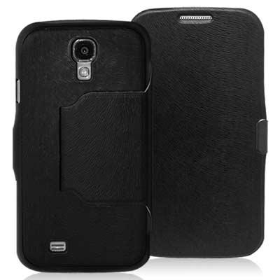 Samsung GALAXY S4 i9500 立體波紋可立式超薄磁扣皮套
