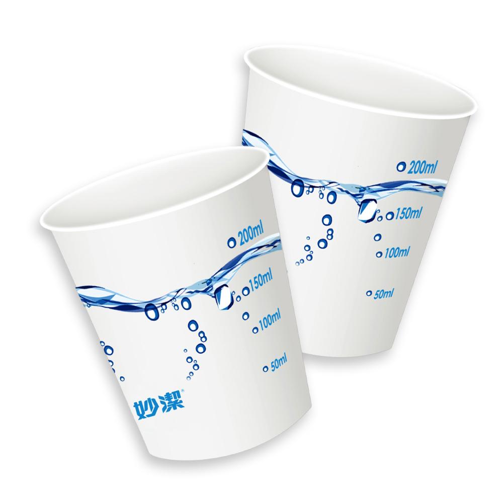 妙潔 增厚環保紙杯270ml-36入  (8H)