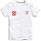 101原創 世足限定T-日本短袖T恤上衣-白