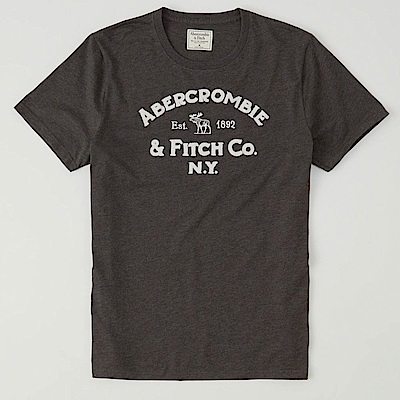 AF a&f Abercrombie & Fitch 短袖 T恤 灰色 11111