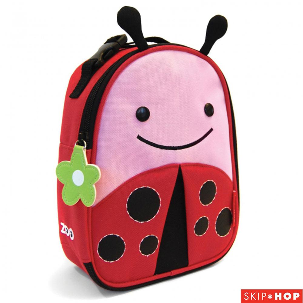 Skip Hop 小瓢蟲款動物野餐保溫袋
