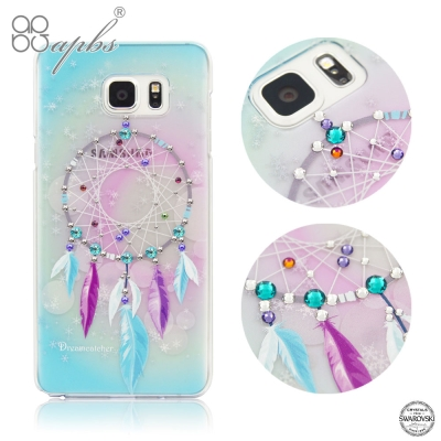 apbs Samsung Galaxy Note5 施華洛世奇水晶保護殼-捕夢網