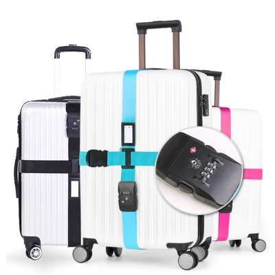 TSA海關鎖行李箱束帶 旅行箱打包帶