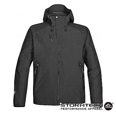 【加拿大STORMTECH】商務機能高質感修身防水透氣外套THX-1-男-碳灰