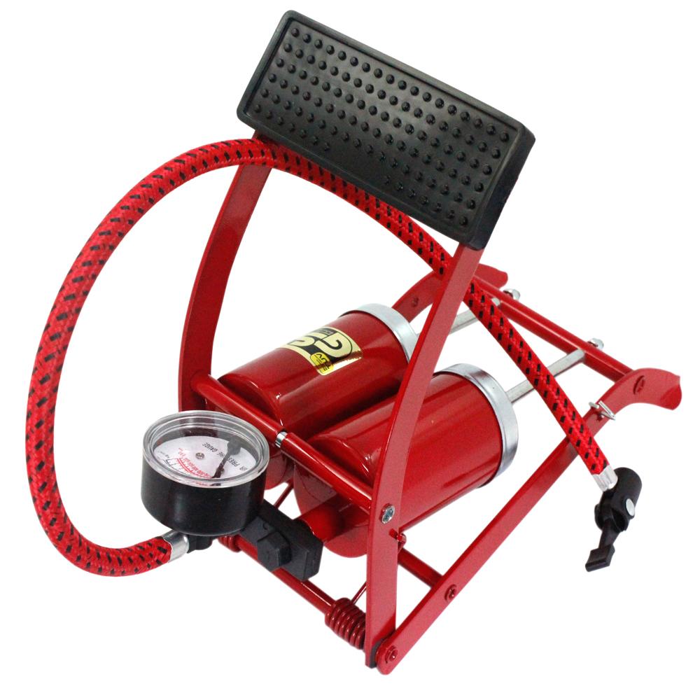 鐵馬生活台製雙管打氣筒