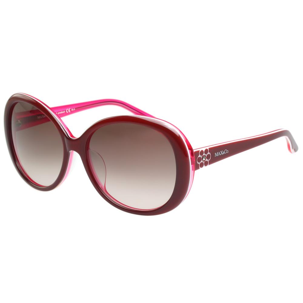 MAX&CO. 時尚太陽眼鏡 (紅色)