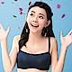 嬪婷- 易搭時尚 B-C罩杯平口胸罩內衣(墨藍)穿搭必備商品 product thumbnail 1