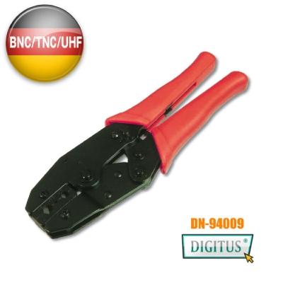 曜兆DIGITUS專業同軸電纜端子壓合鉗(BNC, TNC, UHF, N, RG58,