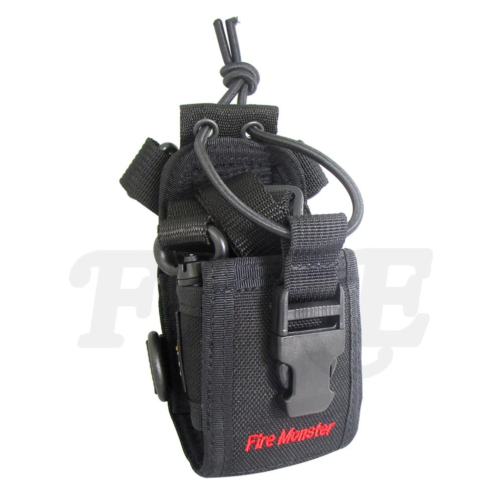 Fire Monster 無線電對講機專用 攜帶型 戰鬥背帶 腰帶布套 戰背 三點式背袋