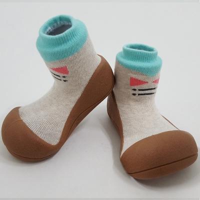 韓國Attipas 快樂學步鞋A 17 TB-褐底紳士
