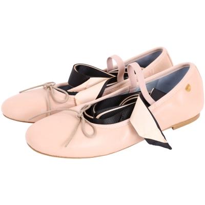 Chiara Ferragni LACE-UP 繫帶芭蕾舞鞋(裸膚/緞帶可拆)