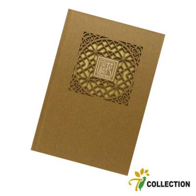 精雕花窗格-茶香 筆記本 T-Collection CONCHEN Design