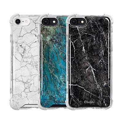 Chiclobe Apple iPhone 8/7 反重力防摔殼-大理石系列