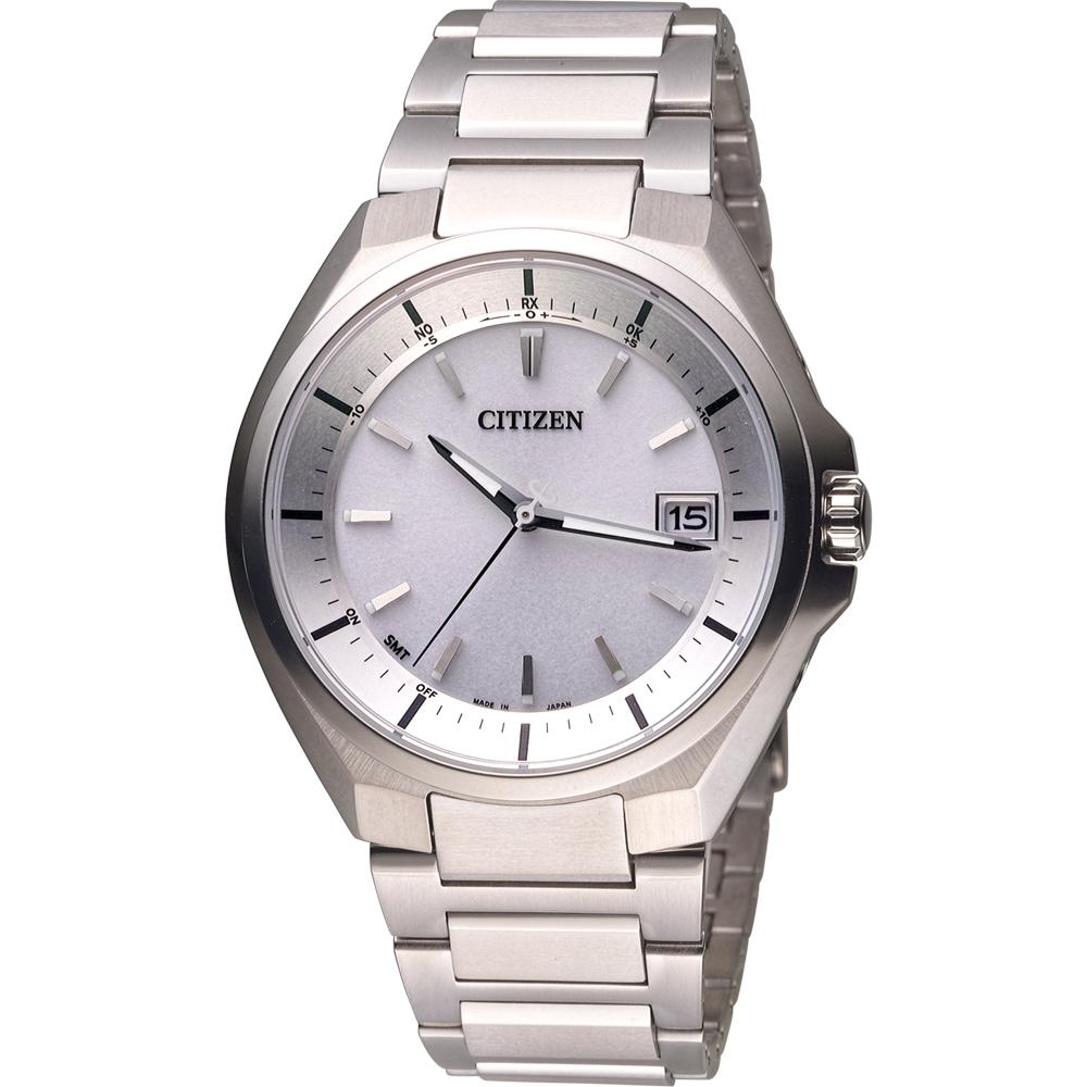 CITIZEN 星辰 超級鈦全球電波光動能錶(CB3010-57A)-42mm