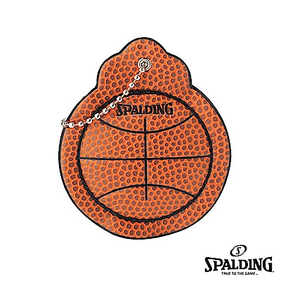 SPALDING斯伯丁籃球皮鑰匙掛環KEY CHAIN鑰匙圈吊飾