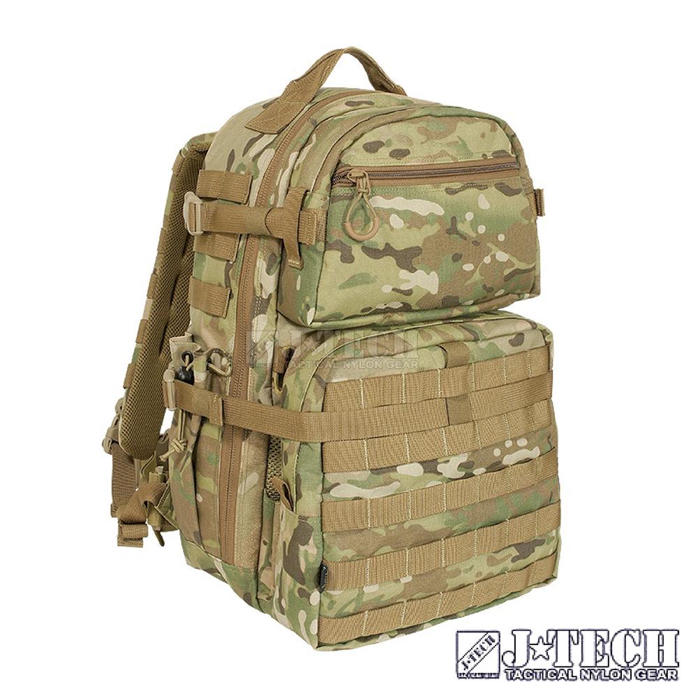 【J-TECH】阿瑞斯 D-2 戰術背包 B款(迷彩綠MC)