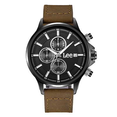 Lee  深入探查時尚腕錶-LES-M07DBL5-1S/41mm