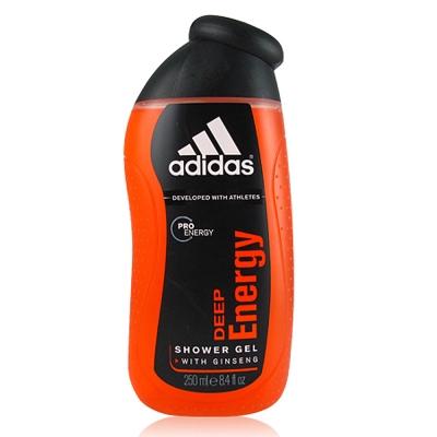 ADIDAS愛迪達 DE完美勁能 男性香氛沐浴膠 250ml