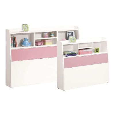 愛比家具 粉紅甜心單人3.5尺床頭箱