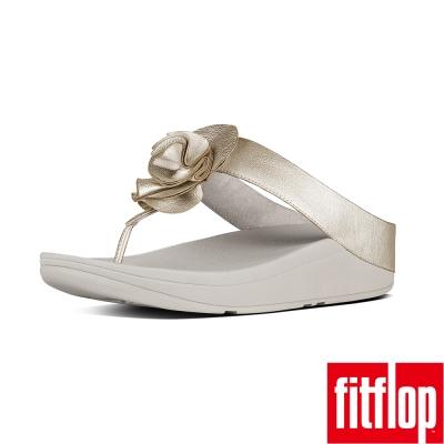 FitFlop TM-FLORRIE TM TOE-THONG-淡金色