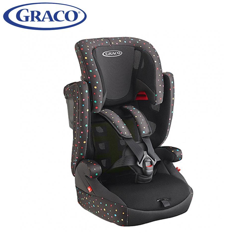 Graco 嬰幼兒成長型輔助汽車安全座椅 AirPop 繽紛彩