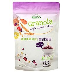 統一生機 脆穀優果麥片-香甜紫藷(240g)