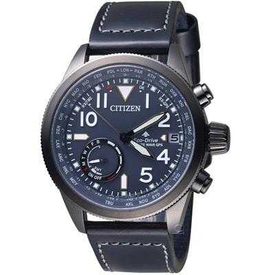 星辰CITIZEN PROMASTER GPS衛星對時限量腕錶(CC3067-11L)