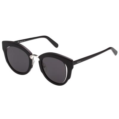 Salvatore Ferragamo-廣告款 太陽眼鏡(黑色)SF830S