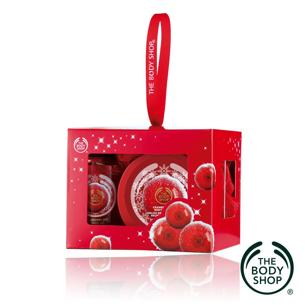 The Body Shop XMAS蔓越莓精選原裝禮盒