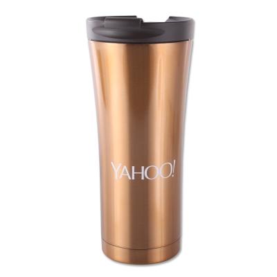 Yahoo LOGO經典咖啡杯-亮金版