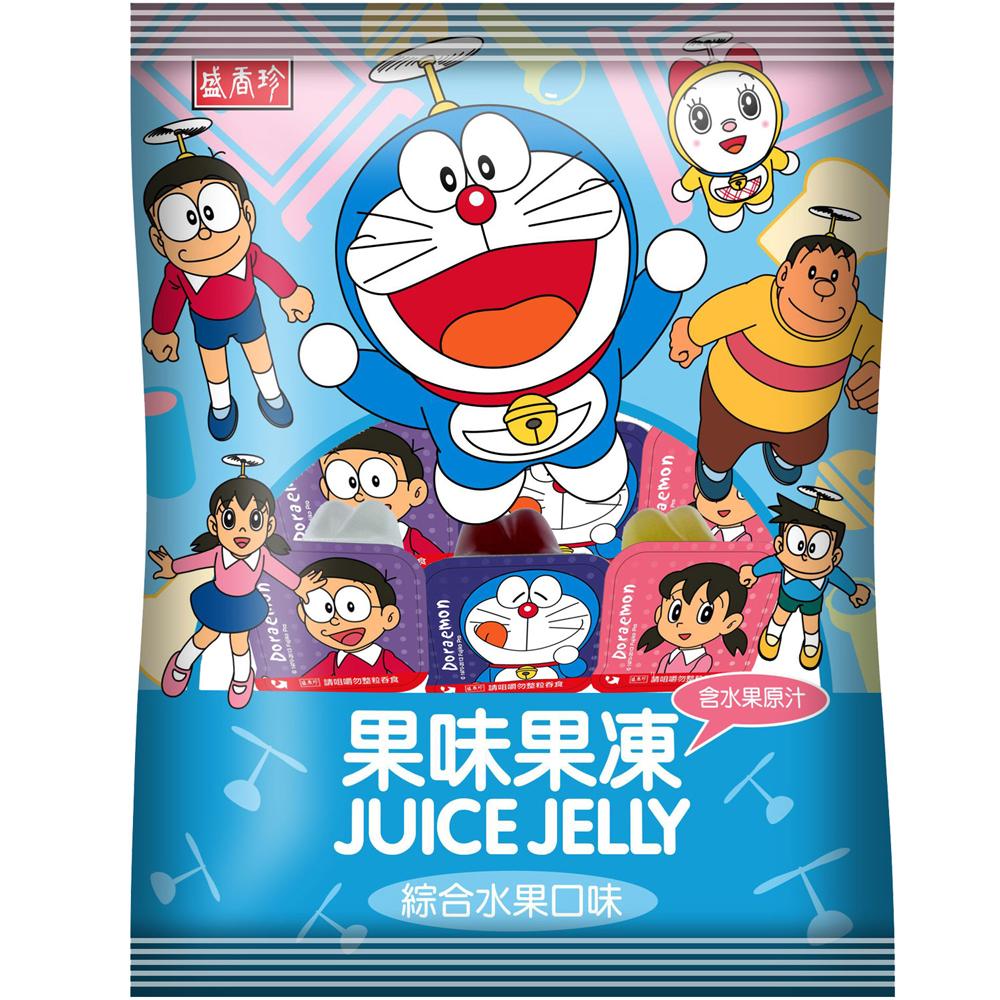 盛香珍 哆啦A夢果味果凍(綜合口味)(1000g)