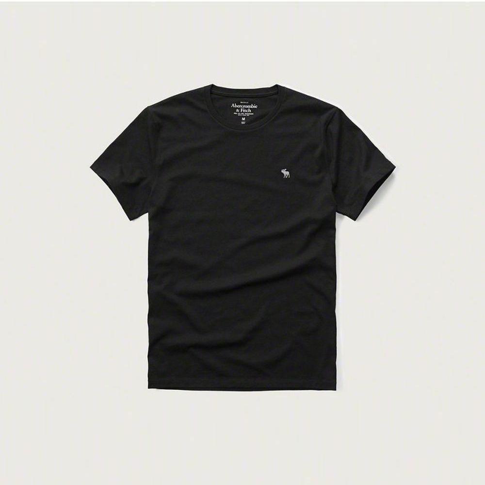 AF a&f Abercrombie & Fitch 短袖 T恤 黑色 338