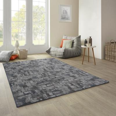 范登伯格 - 朝暘 進口地毯-渲染 - 深灰 (中款-150 x 200cm)