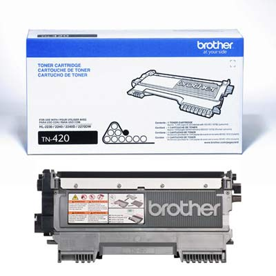 Brother TN-420 黑色原廠碳粉匣