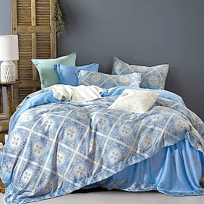 Ania Casa 潘多拉 天絲 100% TENCEL 雙人鋪棉兩用被套床包四件組