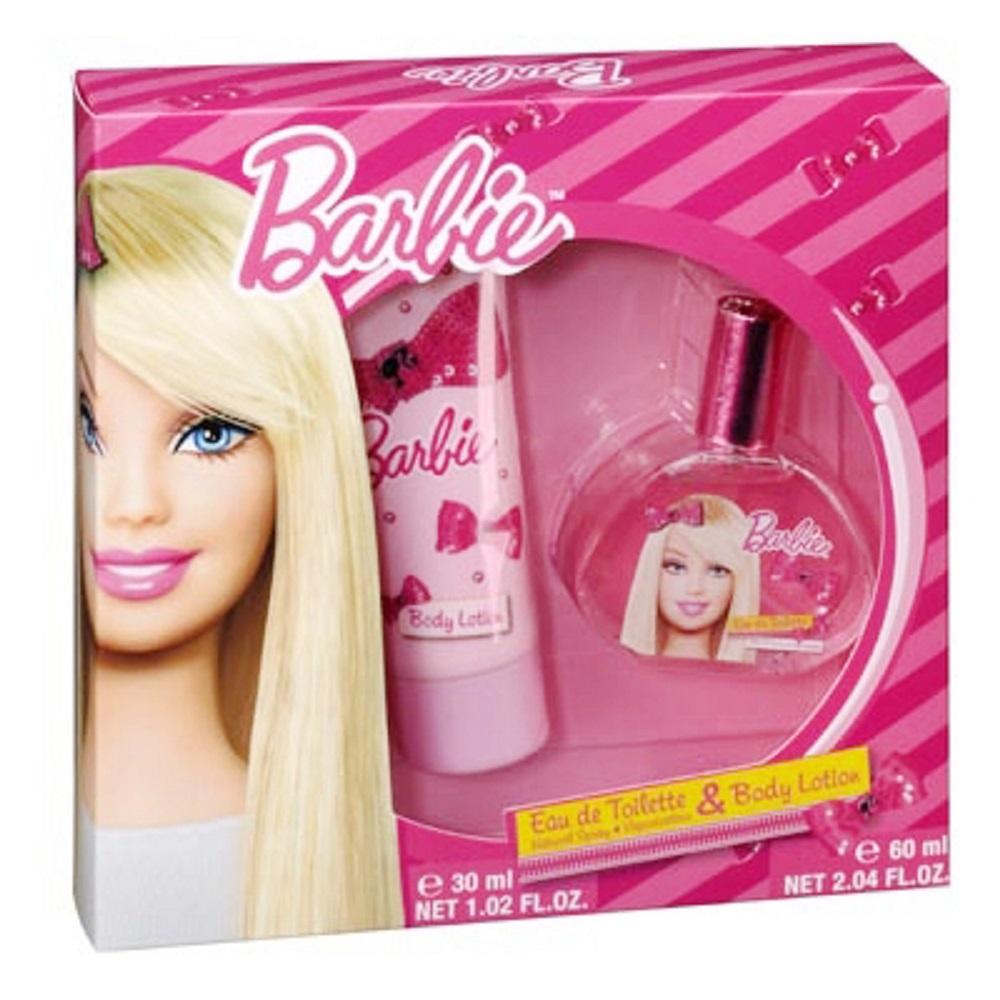 Barbie 時尚芭比 淡香水禮盒 30ml【贈】迪士尼噴霧隨機款*1