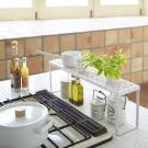 【YAMAZAKI】Kirie典雅雕花單層架-白★收納架/置物架/居家收納