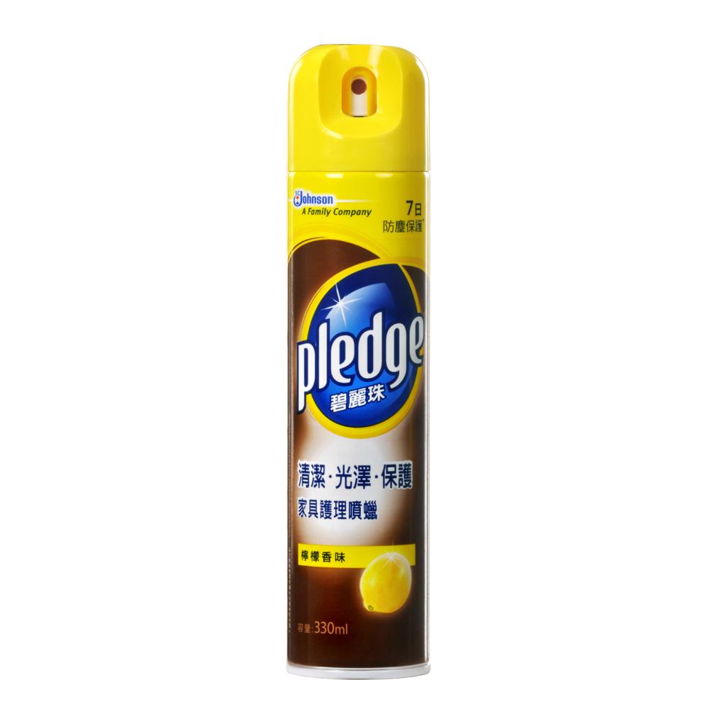 碧麗珠傢俱噴蠟330ml-檸檬香味