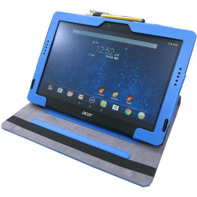 EZstick Acer A3-A30 專用皮套+螢幕貼 組合