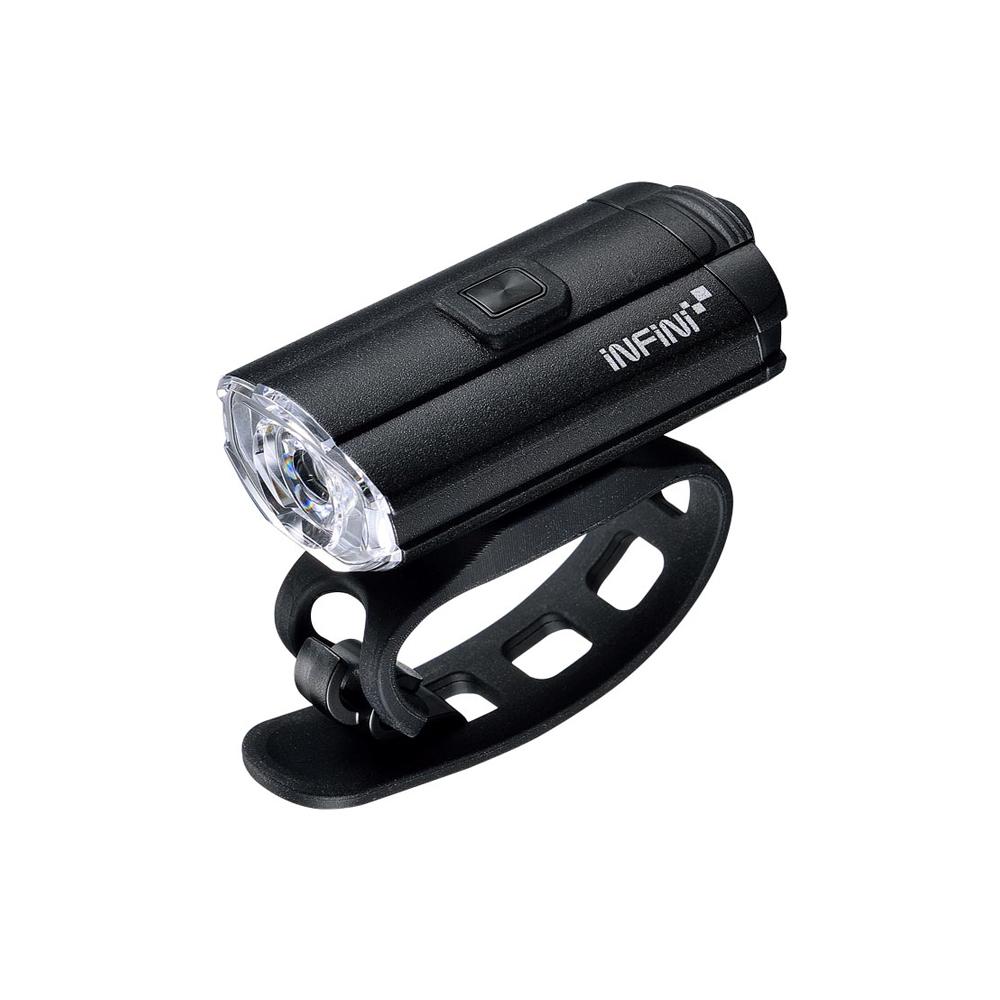 INFINI TRON 100 I-280P 白光USB充電式前燈 黑色