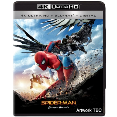 蜘蛛人返校日 ( 4K UHD+BD雙碟限定版)  藍光 BD