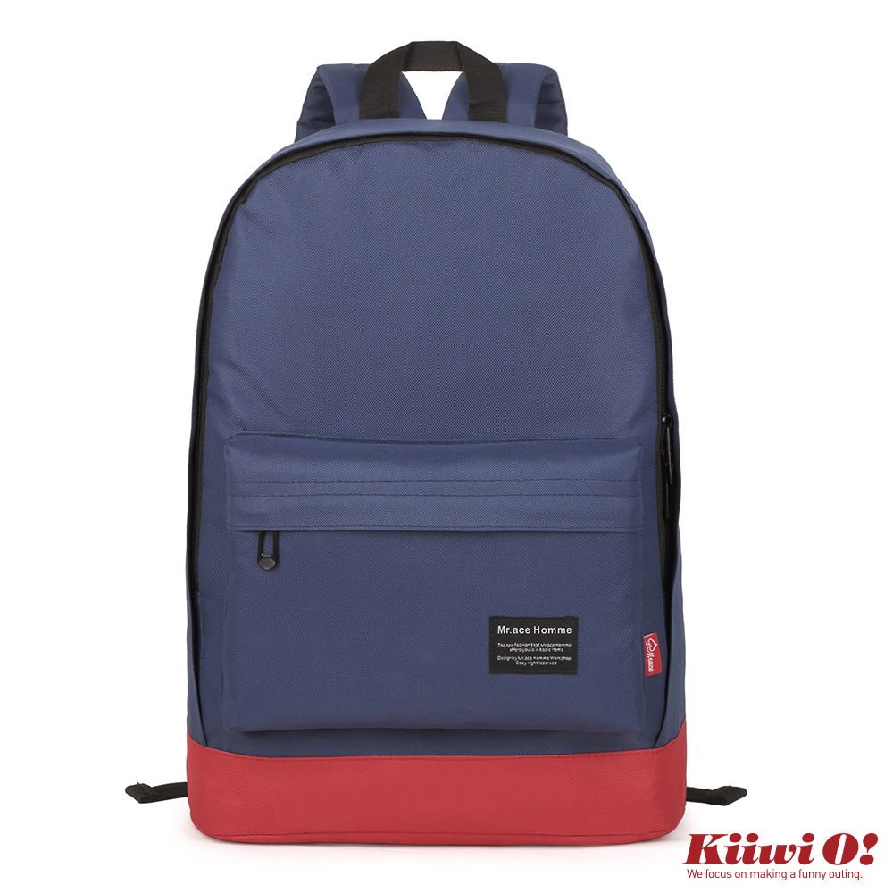 【Kiiwi O!】Basic後背包 藍色喬治