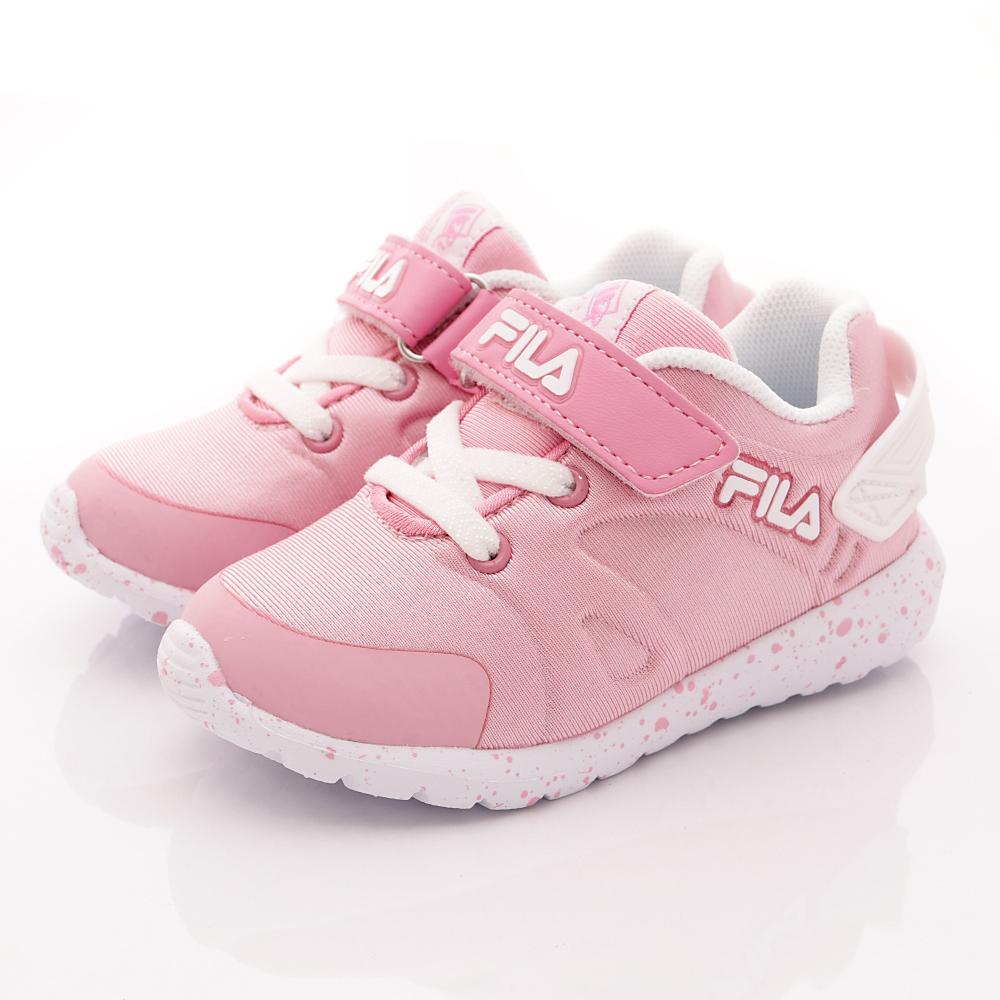 FILA頂級童鞋款-羽量機能款-452R511粉白(中小童段)HN